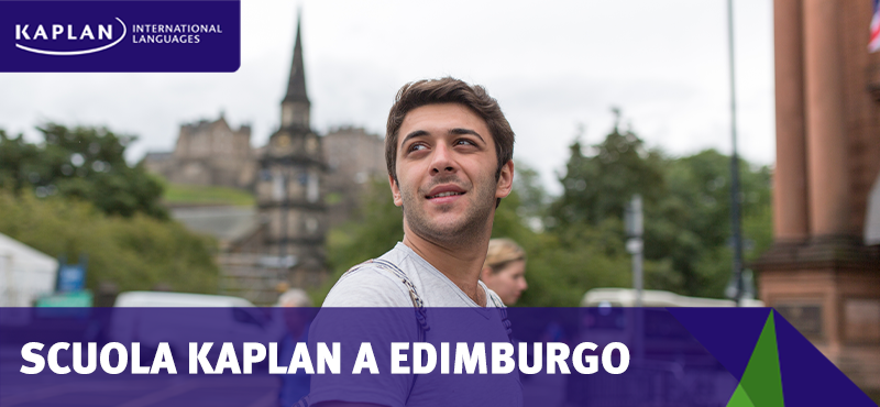 Corsi di inglese a Edimburgo con Kaplan International Languages