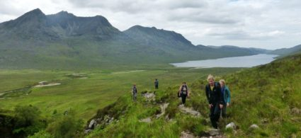 Trekking in Scozia