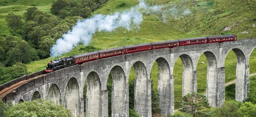 La Scozia in treno